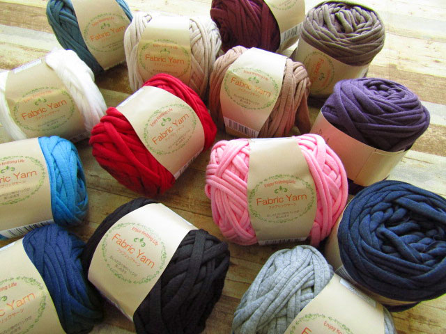 Fabric Yarn ファブリック ヤーン *Plain(プレーン)*
