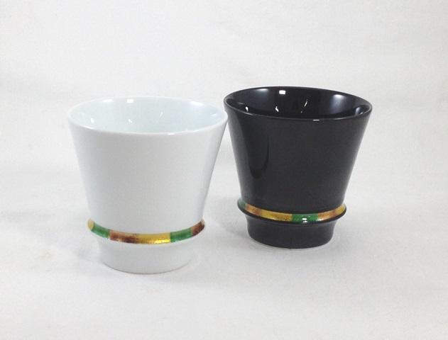 有田焼「匠の蔵」 至高の焼酎グラス ハッピーリング ペアグラス