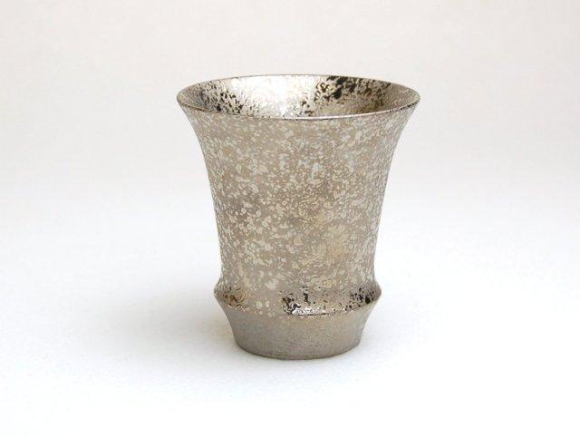 有田焼 匠の蔵 SAKE GLASS 銀彩