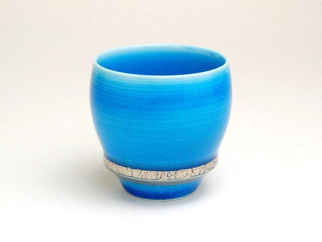 有田焼 匠の蔵 SAKE GLASS 紺碧