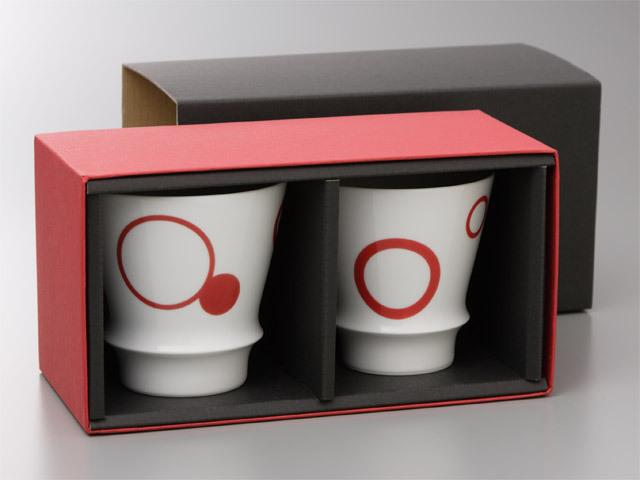 有田焼「匠の蔵」 至高の焼酎グラス ギフトボックス2個用