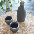晶渕太銀塗 半酒器セット(1合徳利)