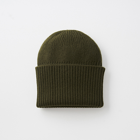 long rib knit cap