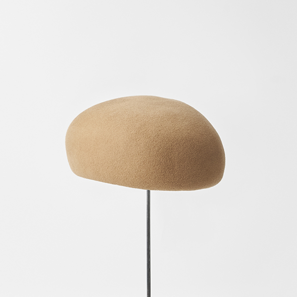 Japanese old wooden block beret