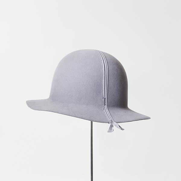 folding hat rabbit wool