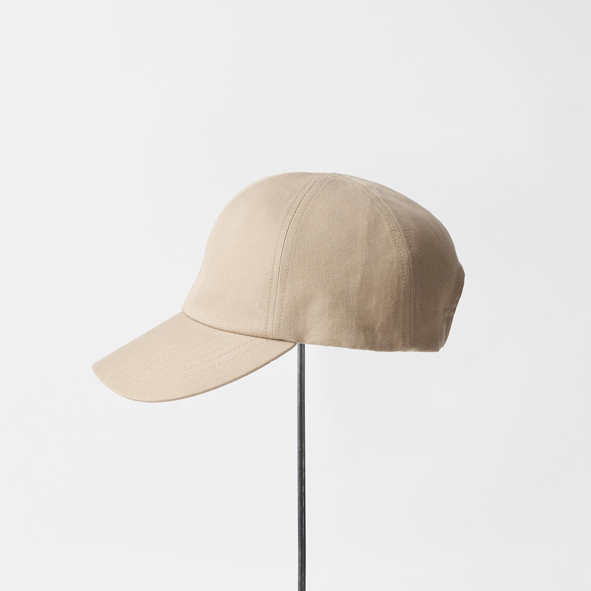 trainer cap / cotton linen