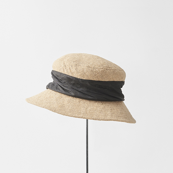 jute drape hat middle