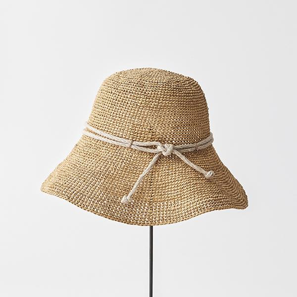 raffia hat wide rope
