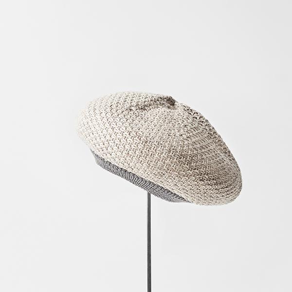 beret knitted linen