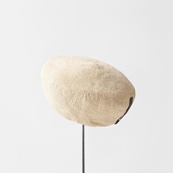 paper linen braid beret big