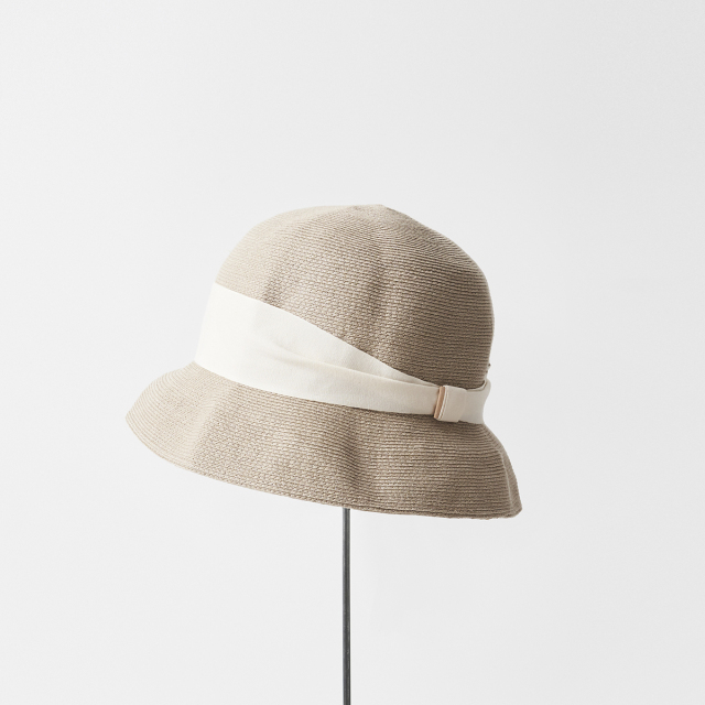 hemp linen braid hat short