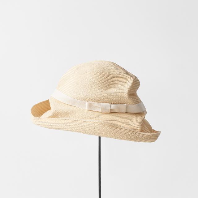 BOXED HAT 11cm brim plain tape