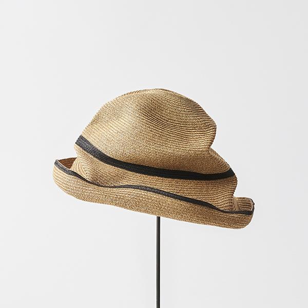 BOXED HAT 11cm brim switch color line