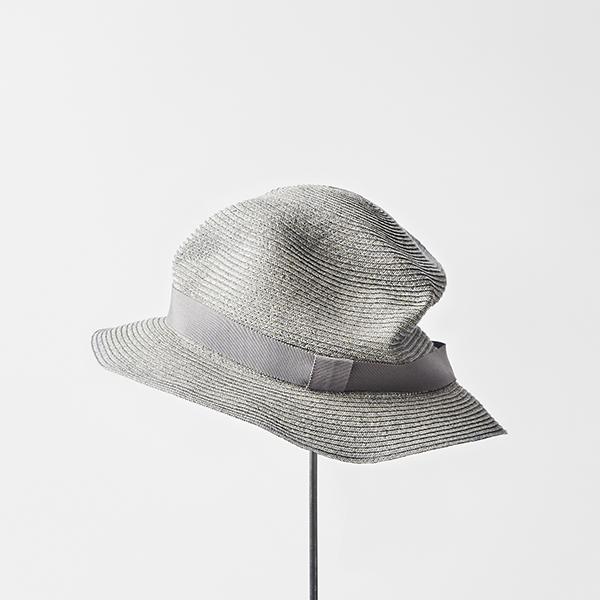BOXED HAT 5.5cm brim color stitch