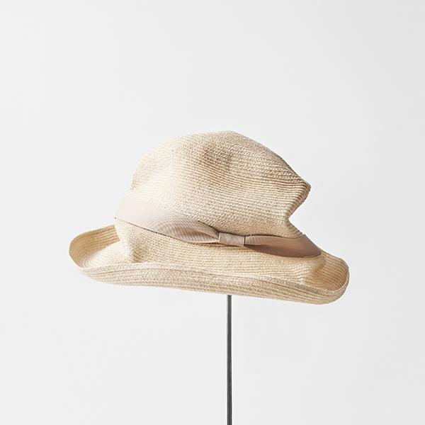 BOXED HAT abaca 9cm brim