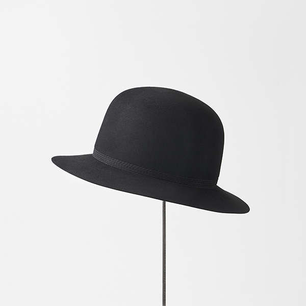 rope tracks hat beaver flat middle brim