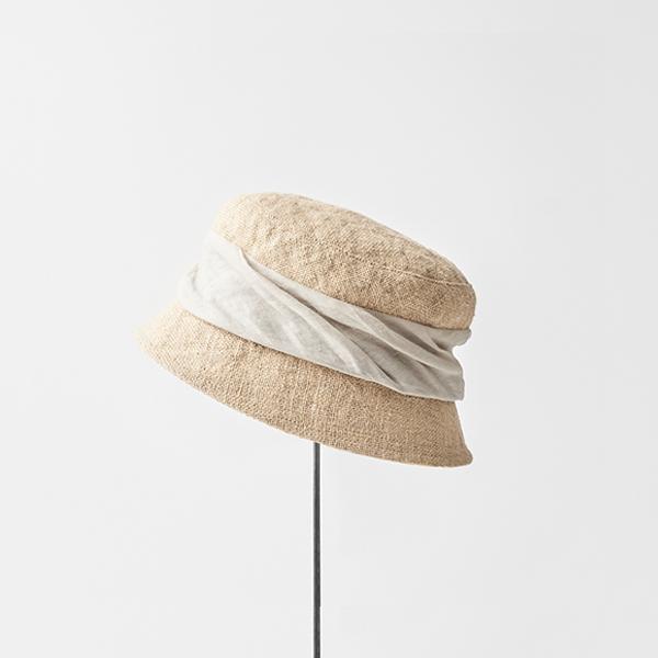 jute drape hat short