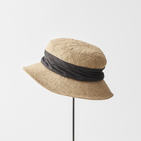 jute drape hat middle