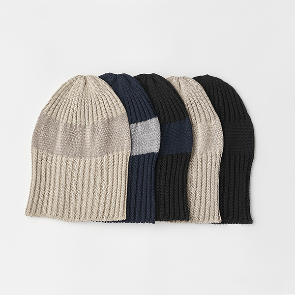 knit cap linen