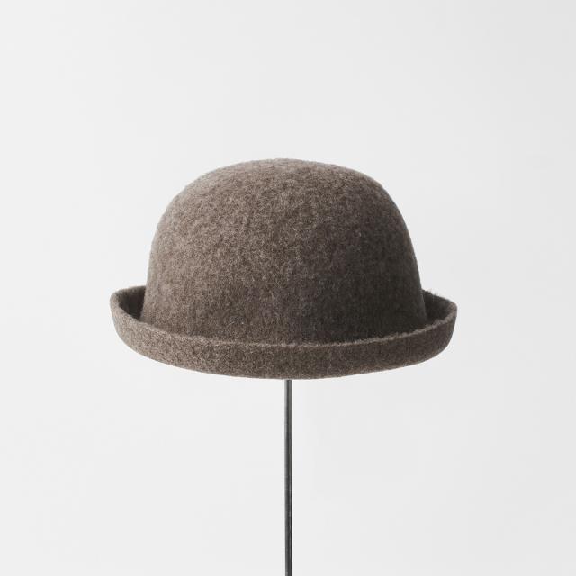 bell hat black merino