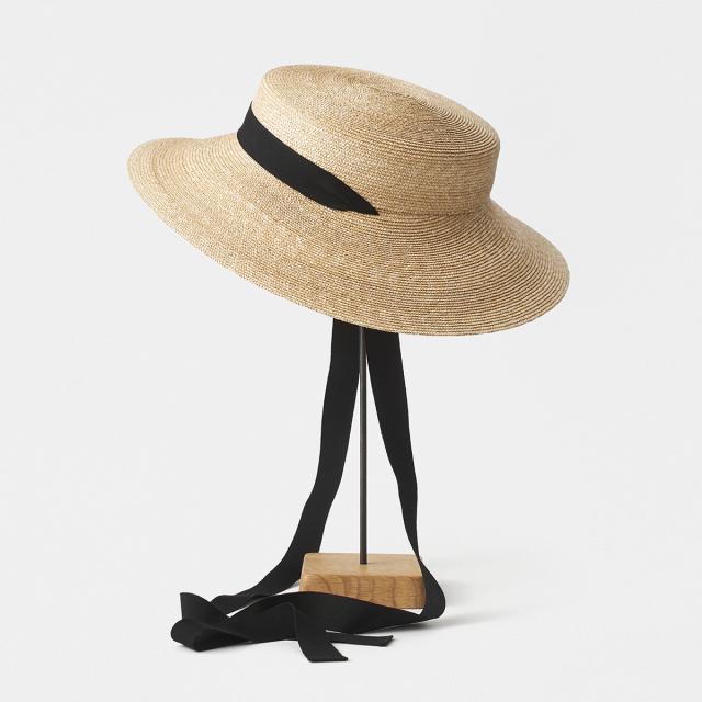 5mm braid straw hat middle2