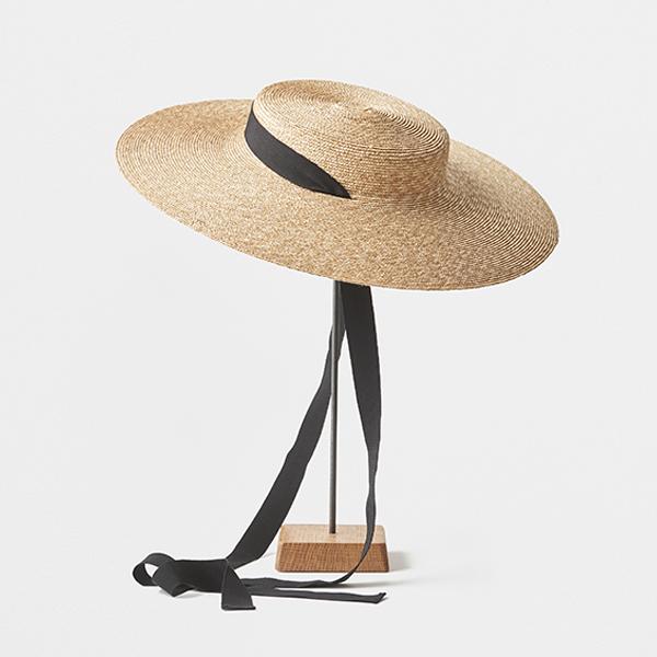 5mm braid straw hat middle