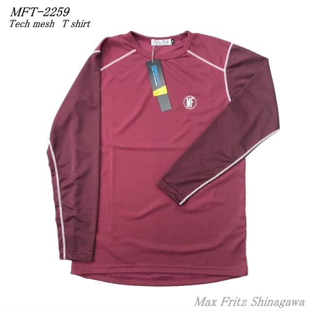 MFT-2259Max Fritz(マックスフリッツ)【テックメッシュTシャツ】