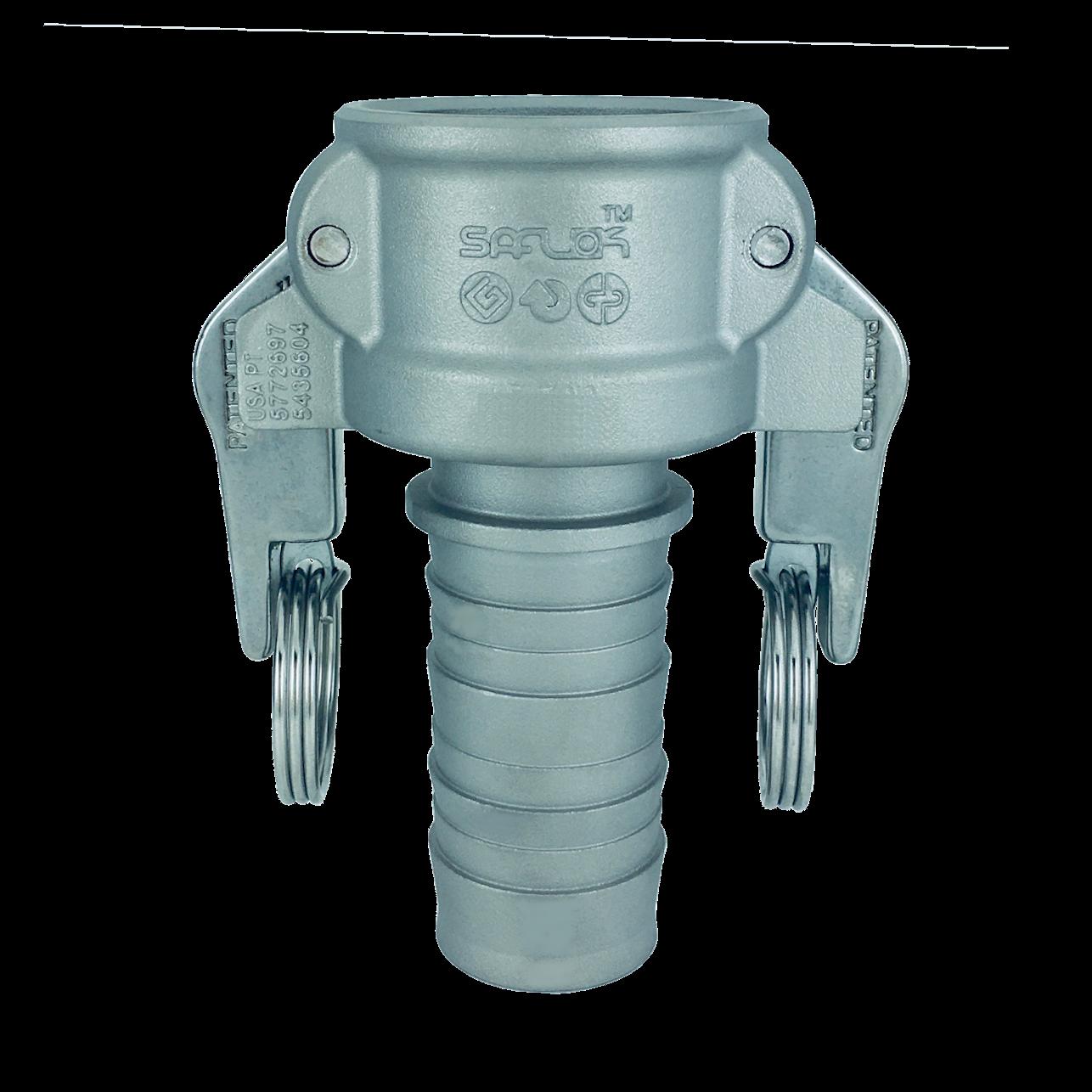 自動ロック カプラー(ホースシャンク) ステンレス SAF-C-SUS