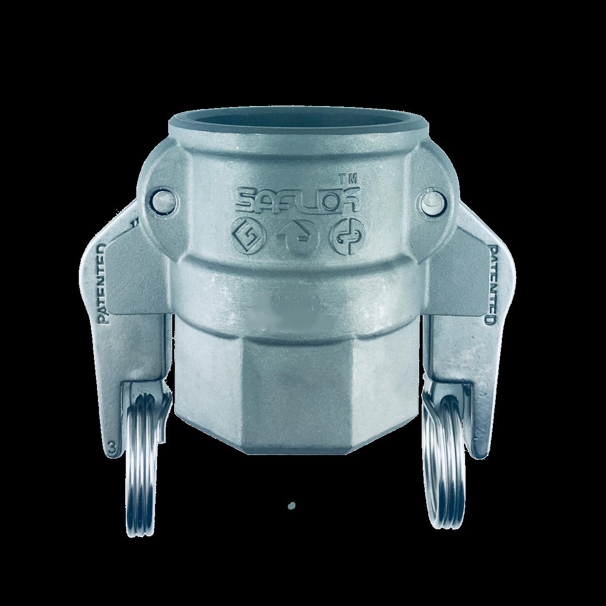 自動ロック カプラー(メネジ) ステンレス SAF-D-SUS