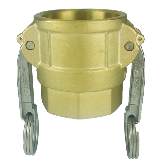 カプラー(メネジ) ブラス MAX-D-BRS