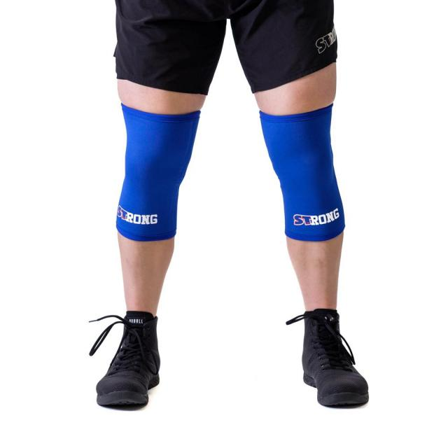 STrong_Knee_Sleeve_Blue_Front