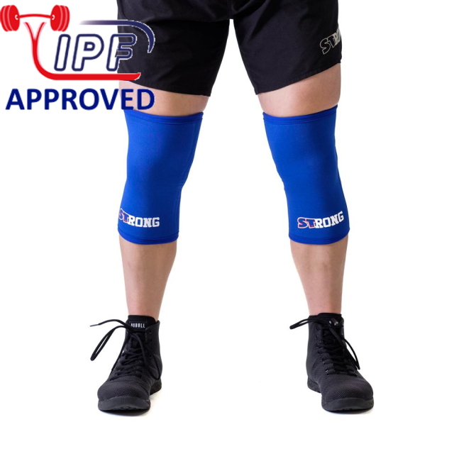 STrong_Knee_Sleeve_Blue_Front1