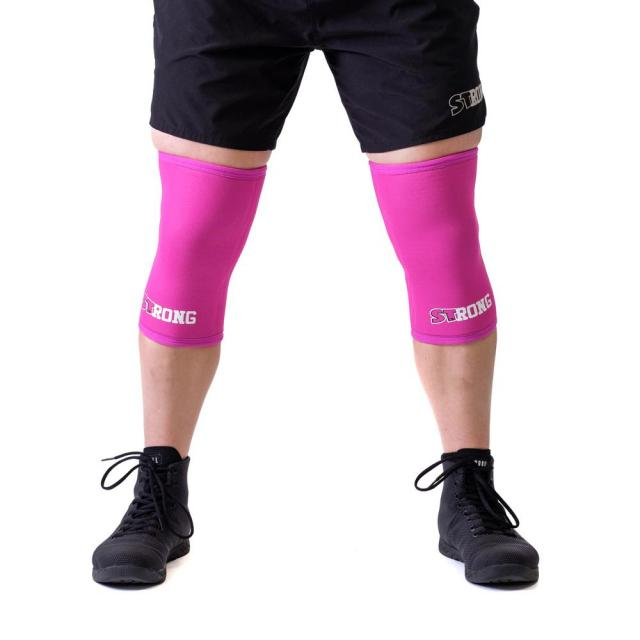 STrong_Knee_Sleeve_Pink_Front