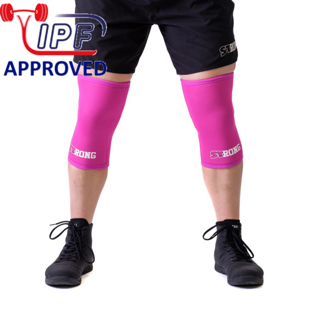 STrong_Knee_Sleeve_Pink_Front1