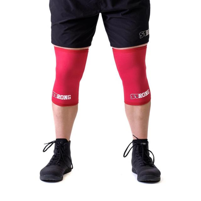 STrong_Knee_Sleeve_Red_Front