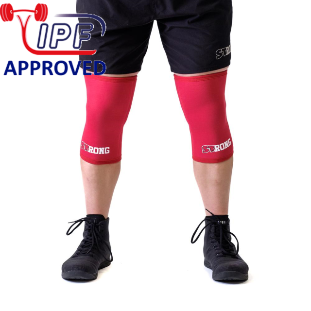 STrong_Knee_Sleeve_Red_Front1