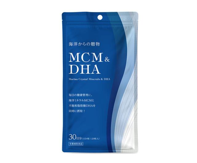 MCM&DHA〈1日4粒 120粒入〉(30日分)