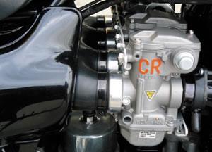 ■Z1/Z2CRキャブ用エアクリーナーボックスアダプター