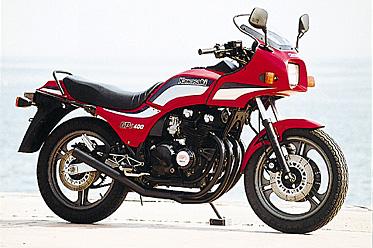 GPZ 400F(K4)NEWショート管-ブラック