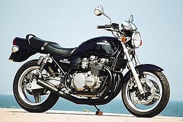 ZEPHYR 750/RS(K9)NEWショート管-ブラック