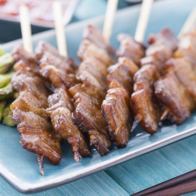 焼き鳥 豚バラ串 30g×100本  焼鳥 業務用 冷凍