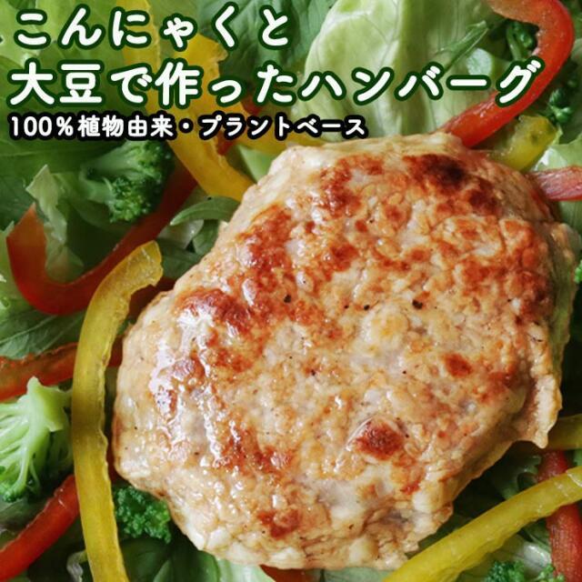 プラントベース 100%植物由来 大豆たんぱく加工品 常温保存 ビーガン対応 大豆ミート 代替肉 人工肉 サラダバーグ 90g×6