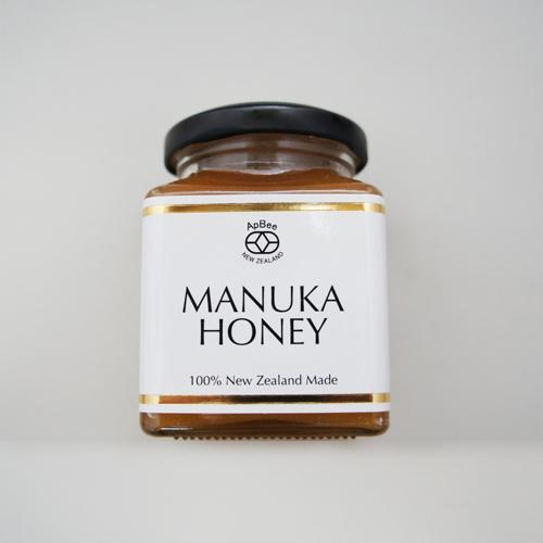 【有名人ブログで話題沸騰!!お早めにどうぞ!】ニュージーランド産完熟非加熱生ハチミツApbeeハイグレードマヌカ 250g/500g