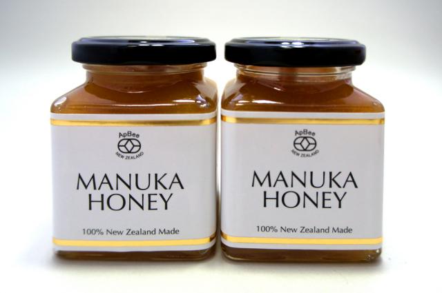【2個セットなら更にお得】ニュージーランド産 完熟生蜂蜜 Apbeeハイグレードマヌカ