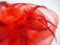 オーガンジー髪飾り