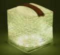 【エコなLEDソーラー充電式ランタン】 SOLARPUFF(ソーラーパフ) ウォームライト/クールブライト