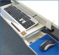 【机に後付けでキーボードトレイを設置!】サンコー クランプ式キーボードトレイ