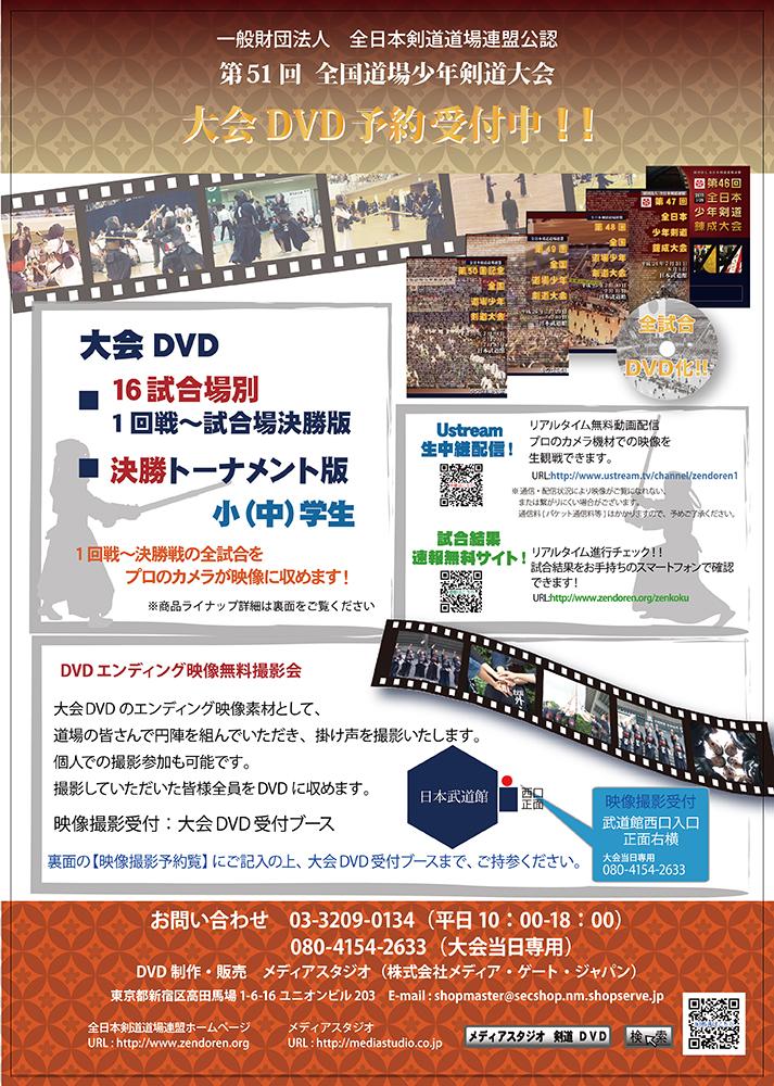 第51回 全国道場少年剣道大会 小学生 団体 決勝トーナメント