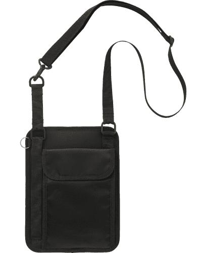 [カゼン] KAZEN 【小物をしっかり分類収納】男女兼用 タブレットケース KZN902-15 (ブラック)