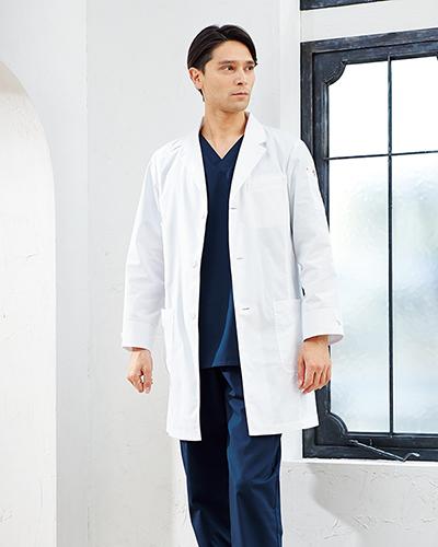 [ディッキーズ] Dickies  【洗いざらしでも心地よい風合いが魅力のドクターコート】 メンズ シングルコート 1537PR (ホワイト)